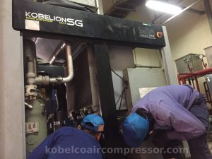 hướng dẫn vệ sinh máy nén khí kobelco