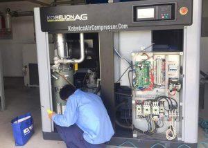 sửa máy nén khí trục vít tại bình dương