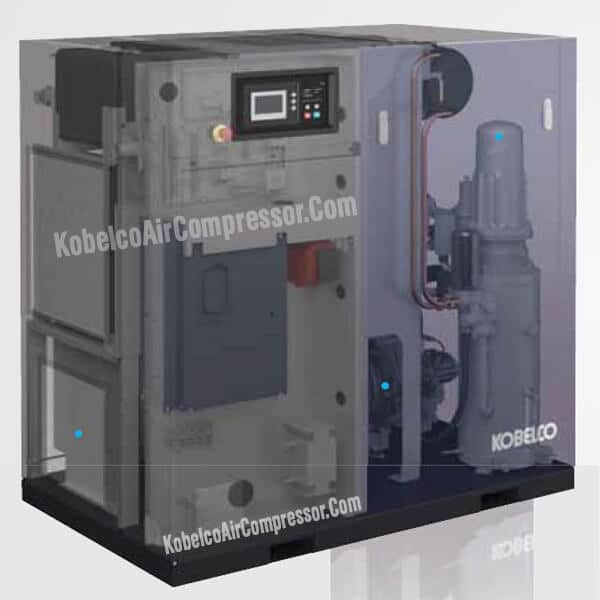 Cấu tạo máy nén khí trục vít kobelco